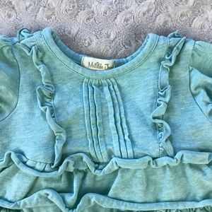 Matilda Jane Shirts & Tops - Matilda Jane Tiered Ruffle Top Shirt Blue 3-6M